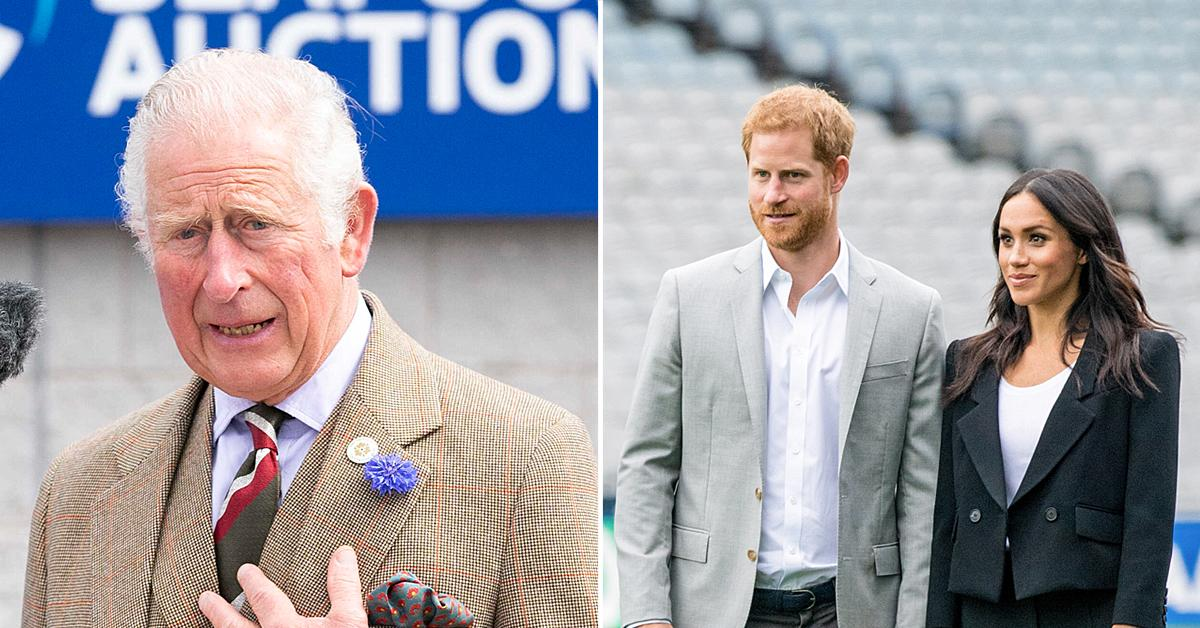 prince charles wants to meet prince harry meghan markle daughter lilibet