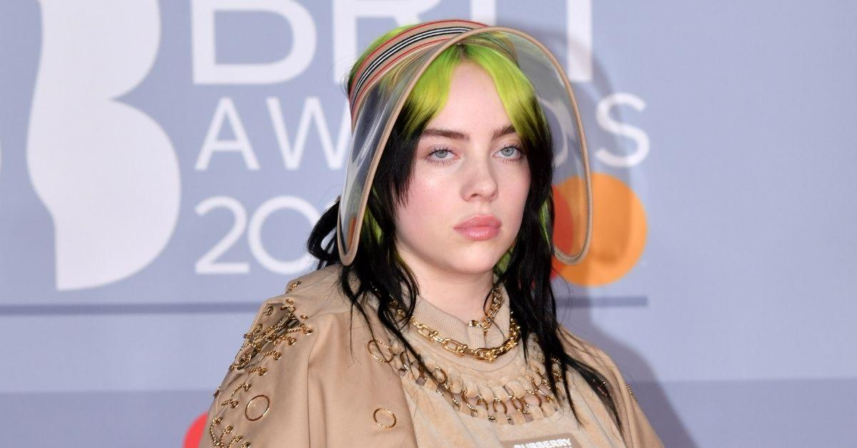 billie eilish new look old hollywood corset british vogue photoshoot