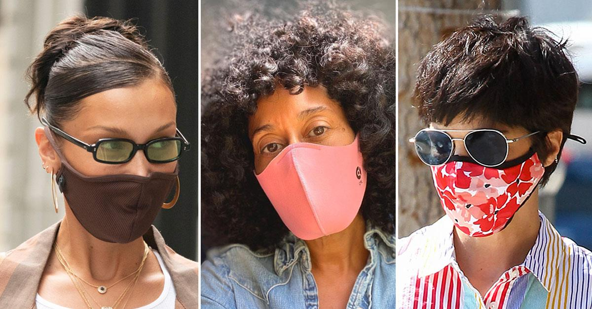 14 Celebrities Who Rock The Most Fashionable Face Masks