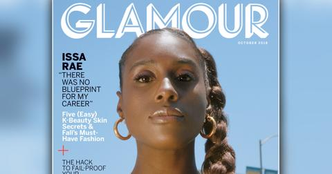 Issa rae glamour cover story tv issue main2