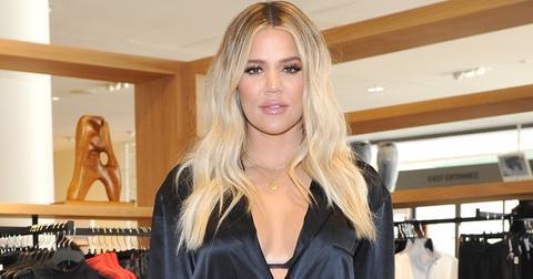 Khloe kardashian belly button concern