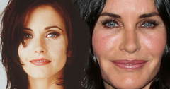 Courteney cox face change different pp 3