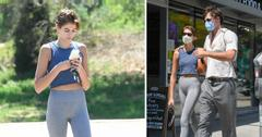 kaia gerber has lunch with jacob elord in los feliz