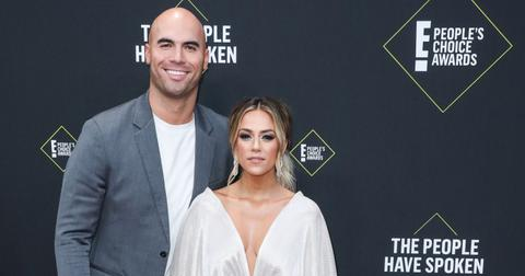 Mike Caussin and Jana Kramer at the 2019 E! People's Choice Awards