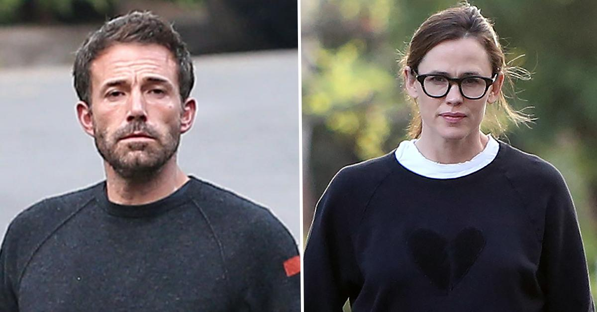 ben affleck jennifer garner reunite pp
