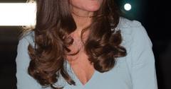 Kate middleton blue dress hairstyle