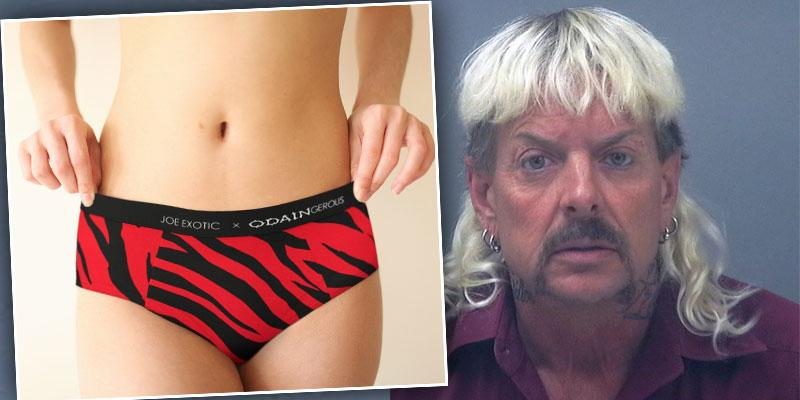 Tiger King's [Joe Exotic] Launches Underwear Line From Prison