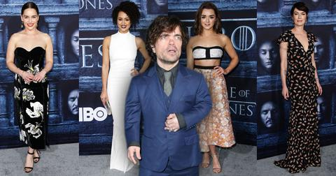 game of thrones premiere red carpet season