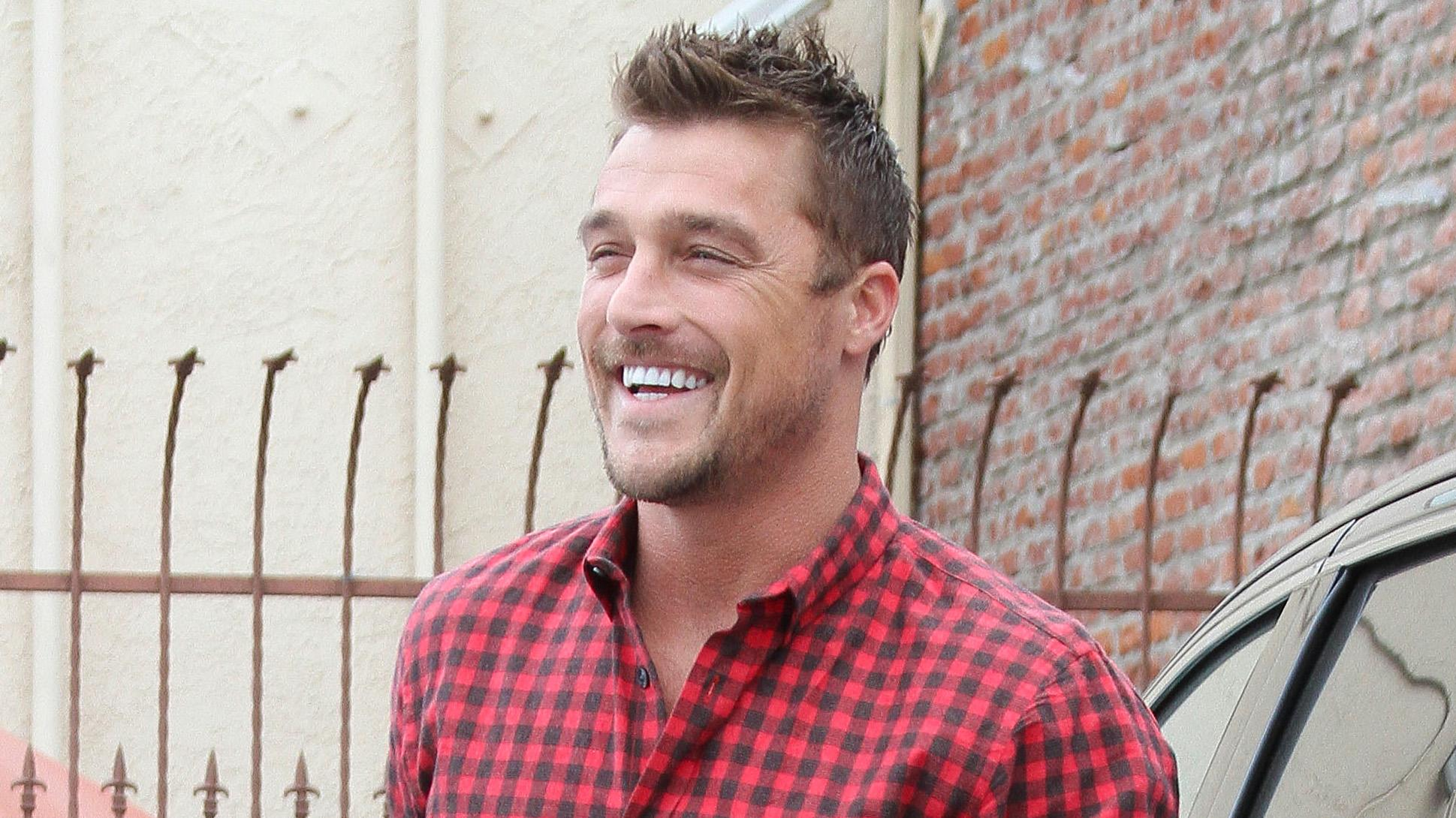 Chris Soules and Witney Carson hit DWTS Studios