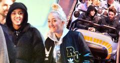 Miley cyrus and patrick at disney