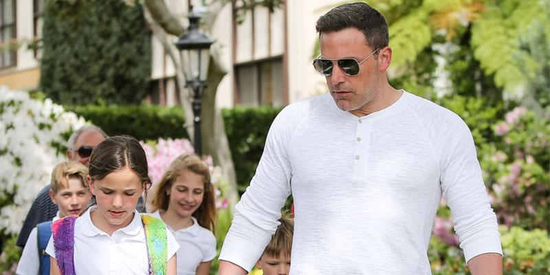 Ben Affleck with Kids