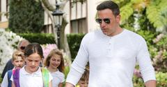 Ben Affleck with Kids