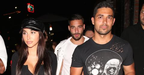 Wilmer Valderrama dines at TAO with Justin Bieber's ex Chantel Jeffries