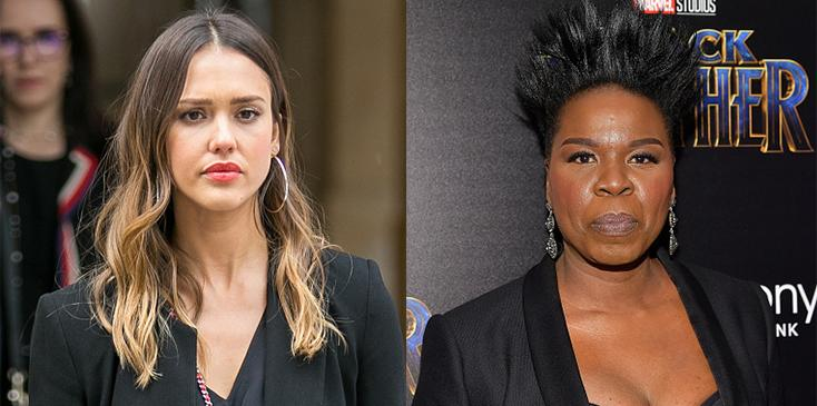 Leslie jones calls out jessica alba honest company