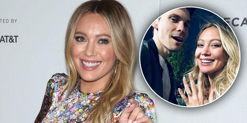 Hilary Duff Is Engaged To Matthew Koma PP