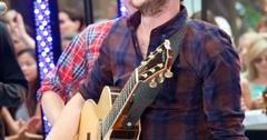 Phillip Phillips performs on NBC's The Today Show in New York City