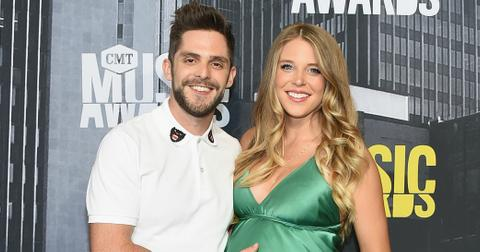 Thomas Rhett Wife Lauren Akins Gives Birth Baby Girl h