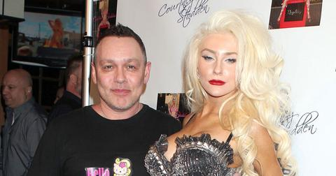 Courtney Stodden And Doug Hutchison On Red Carpet