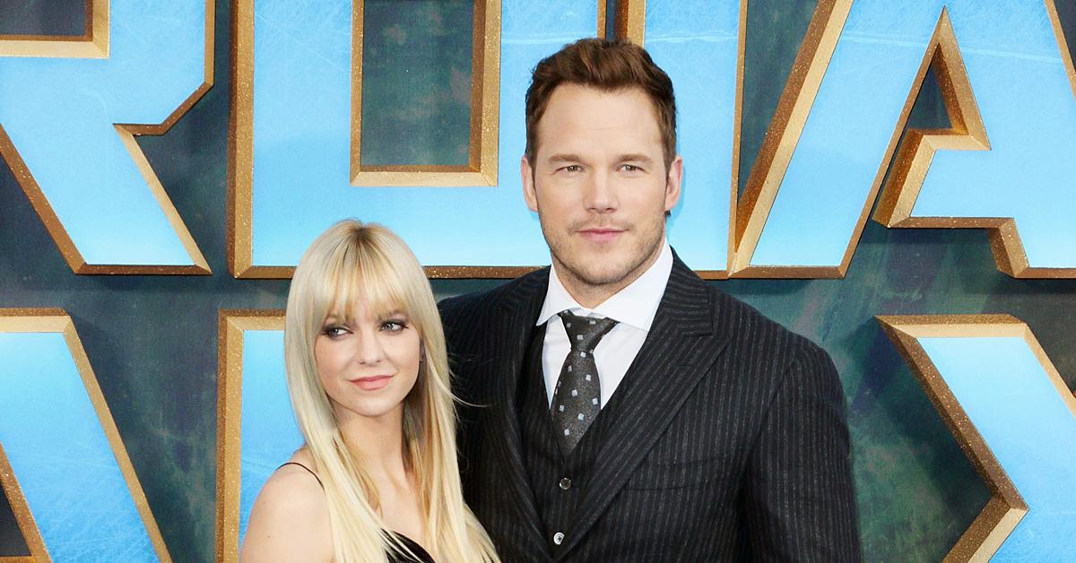 anna faris reveals never reveals never talked issues chris pratt during ok