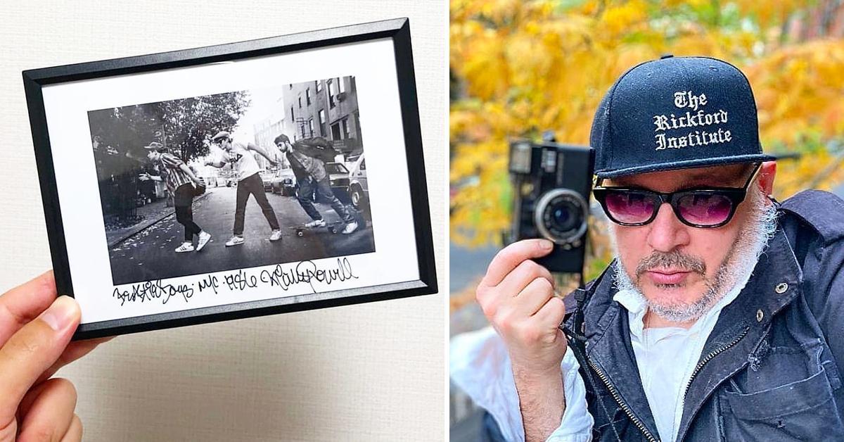 famed hip hop photographer fourth beastie boy ricky powell dead  pf