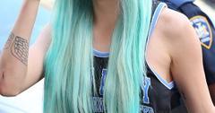 Amanda Bynes Blue Hair