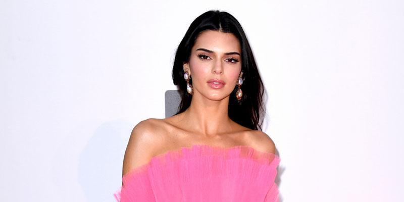 kendall jenner pink dress