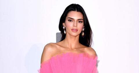 kendall jenner pink dress