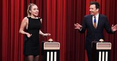 Miley jimmy fallon post pic
