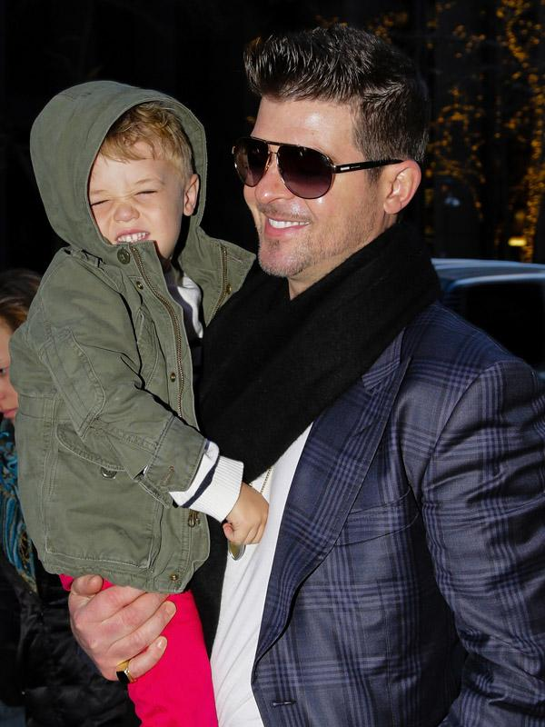 Robin Thicke sighting in New York City