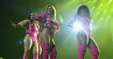Fifth Harmony Perform Tidal Concert Pink Latex Sexy Skin Photos hero