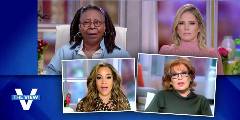'The View' Hosts Bail After Offscreen Drama As Whoopi Goes Live With Just Sara Haines