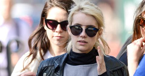 Emma Roberts Blonde Haircut Extensions Photos hero