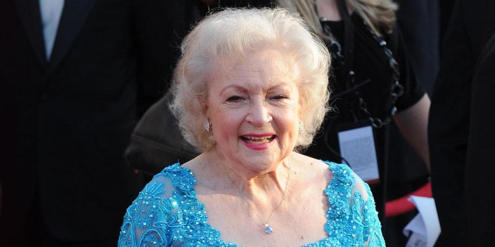 Betty White in Blue Gown Betty White memorable Moments