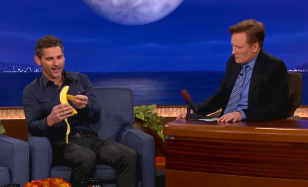Eric Bana on Conan