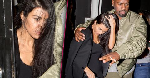 Kourtney kardashian ama afterparty corey gamble scott disick