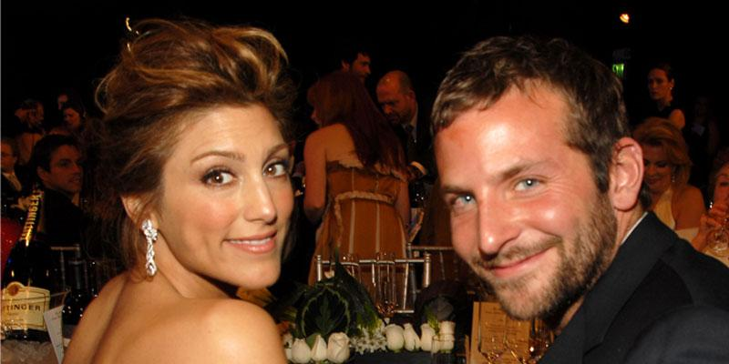 Jennifer Esposito and Bradley Cooper