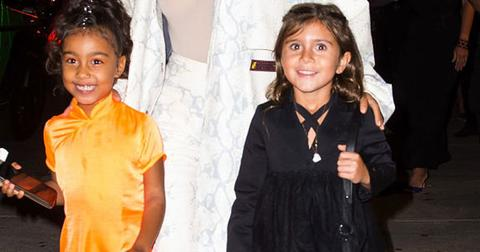Penelope Disick And North West Pajama Party Birthday