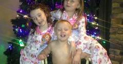 Leah calvert daughters christmas