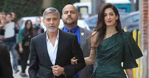george-amal-godparents
