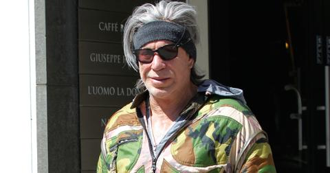 Mickey Rourke Outfit