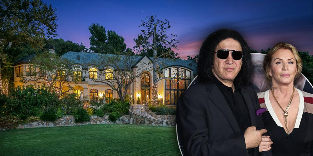 Inside Gene Simmons' Benedict Canyon Home