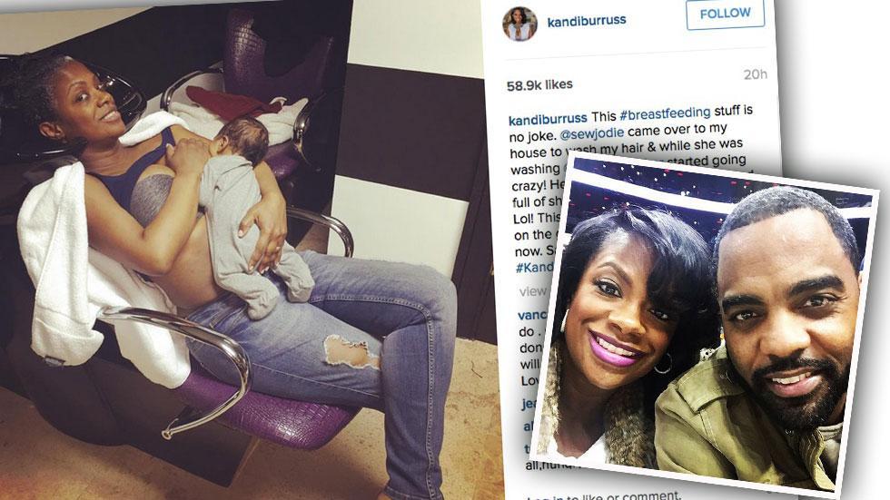 Kandi Burruss Breastfeeding Haters Diss