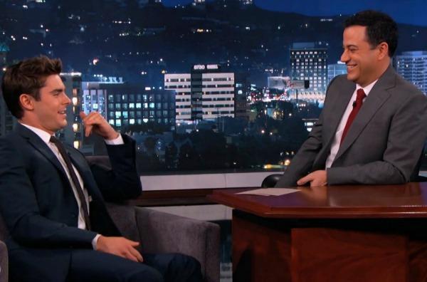 Zac Efron on Jimmy Kimmel Live